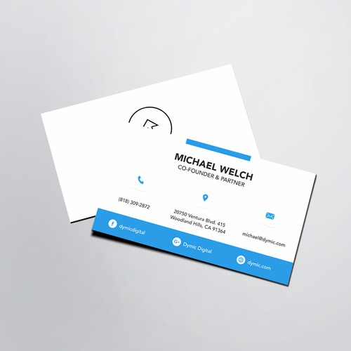 Business Card of Michael Welch