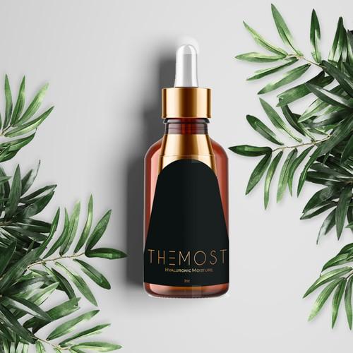 Luxury Design Hair Moisturizer Packaging