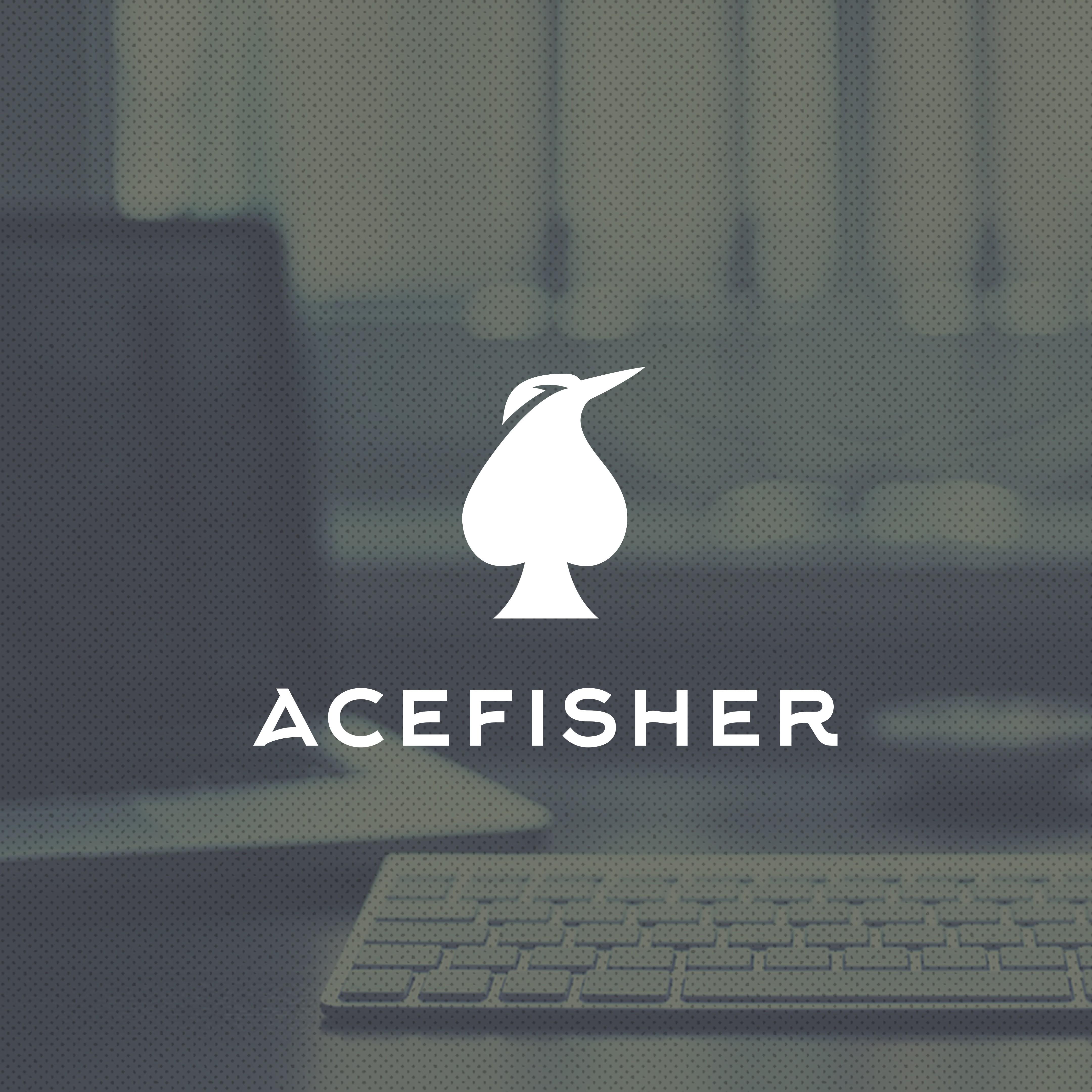 Create a logo for a digital marketing agency AceFisher