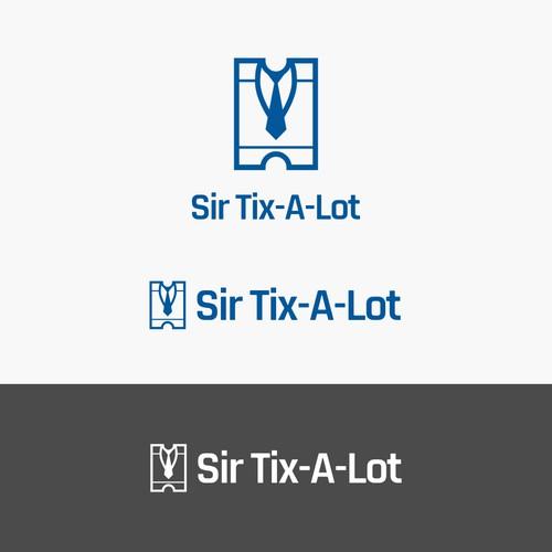 Sir Ticket Logo Design