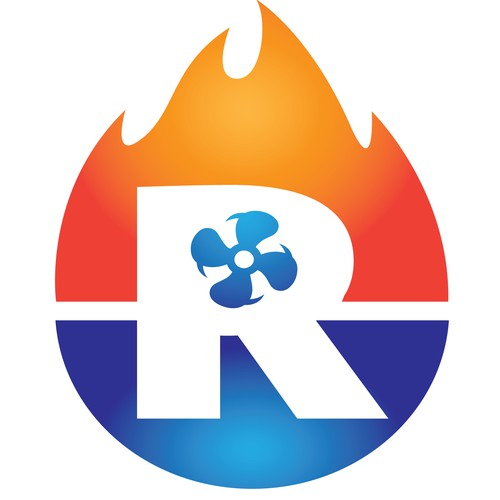 HVAC Logo for Robertson's Heating and  Cooling