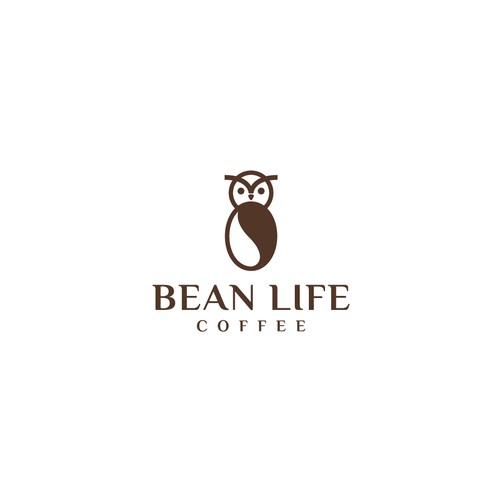 Bold logo concept for Bean Life Coffe