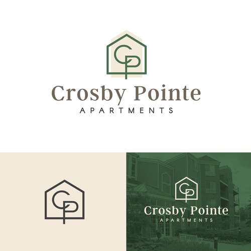 Logo Concept for Apartment Building