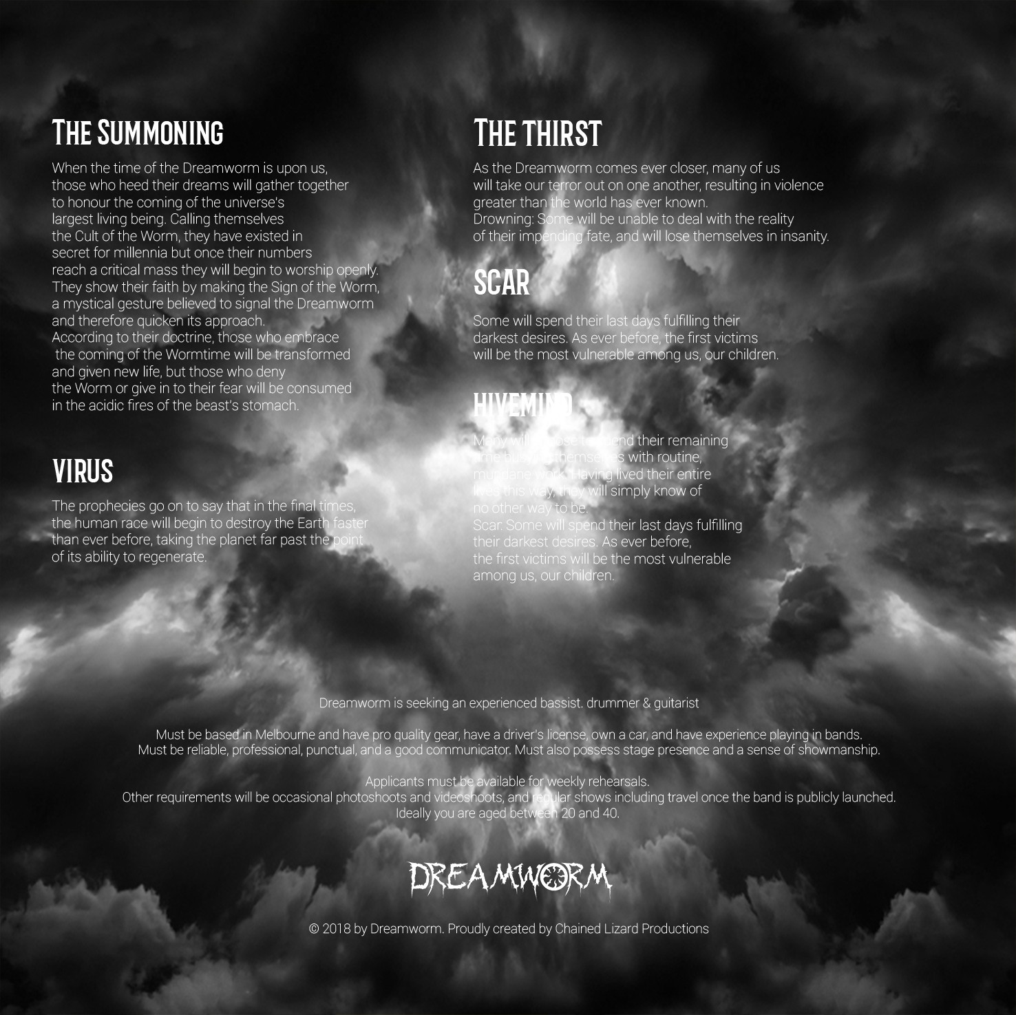 Dreamworm Album Art