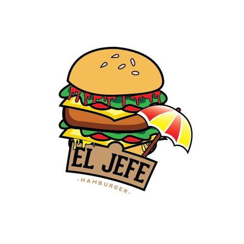 logo for EL JEFE Hamburger