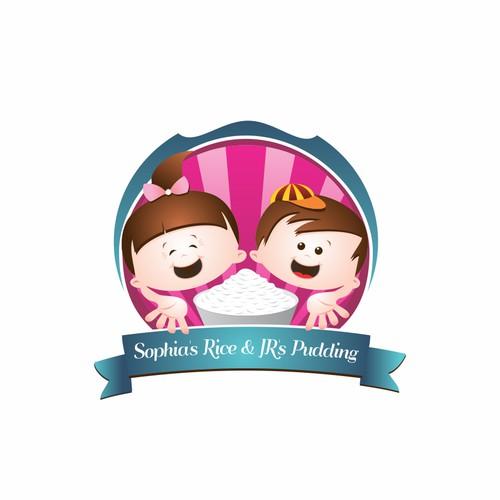 Sophia's Rice & JR'S Pudding needs a new logo