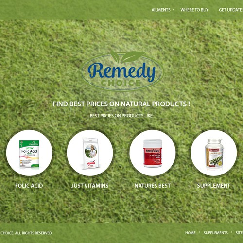 Remedy Choice Web Design