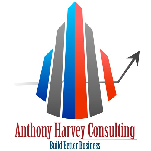 Design a creative business consulting logo for Anthony Harvey
