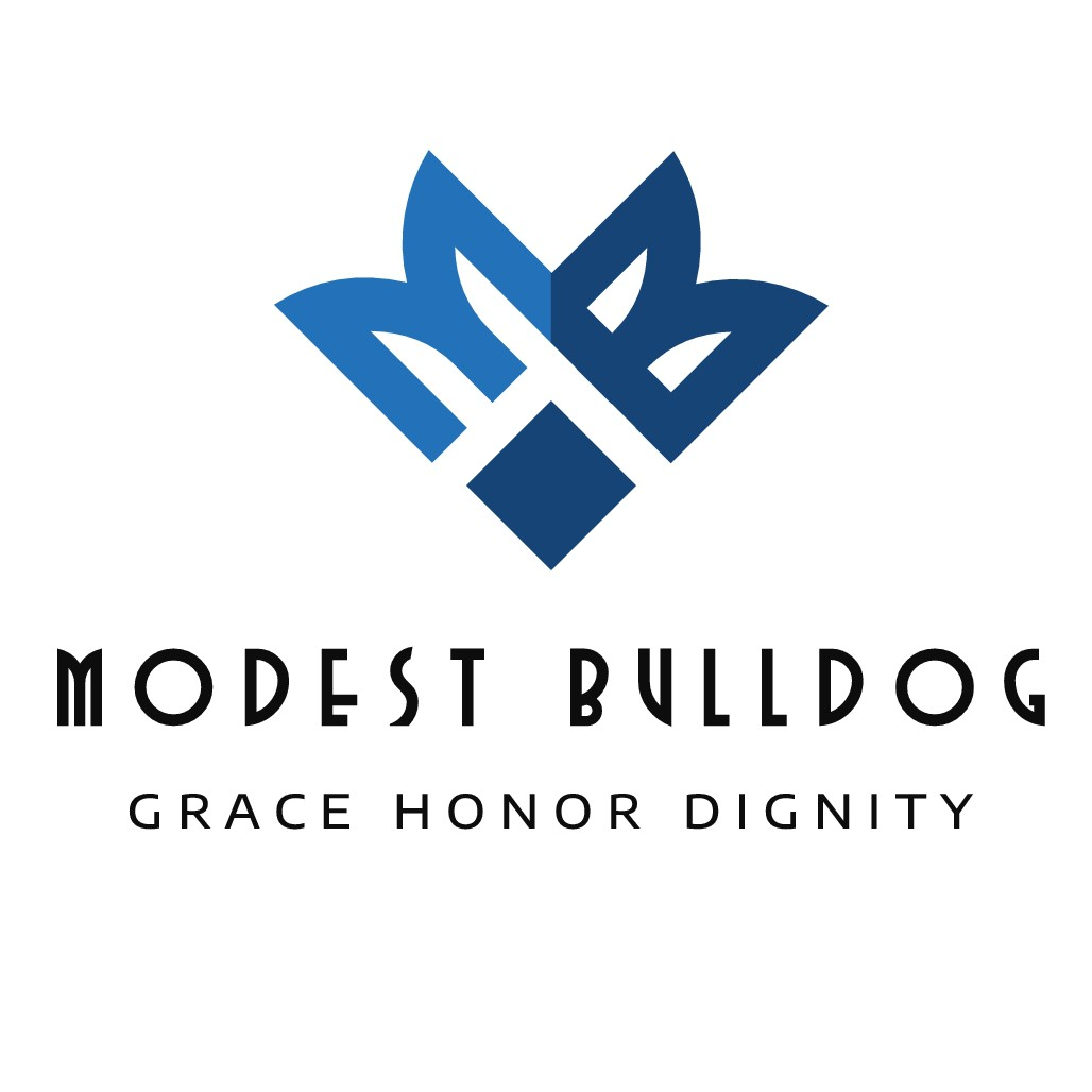 Modest Bulldog needs a sleek and sophisticated design for all ages.