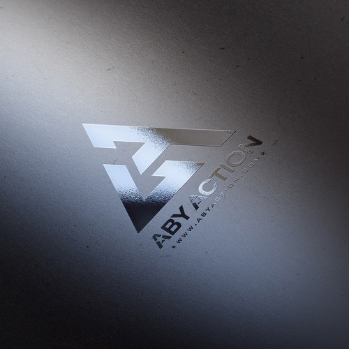 Chrome Silver logo For Aby