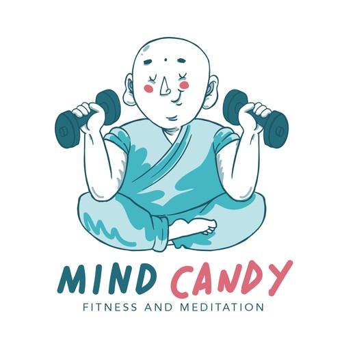 logo design for gym and meditation class