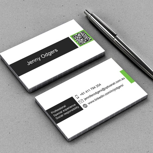 Create a new business card for a corporate affairs professional