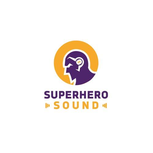 iconic logo for Superhero Sound