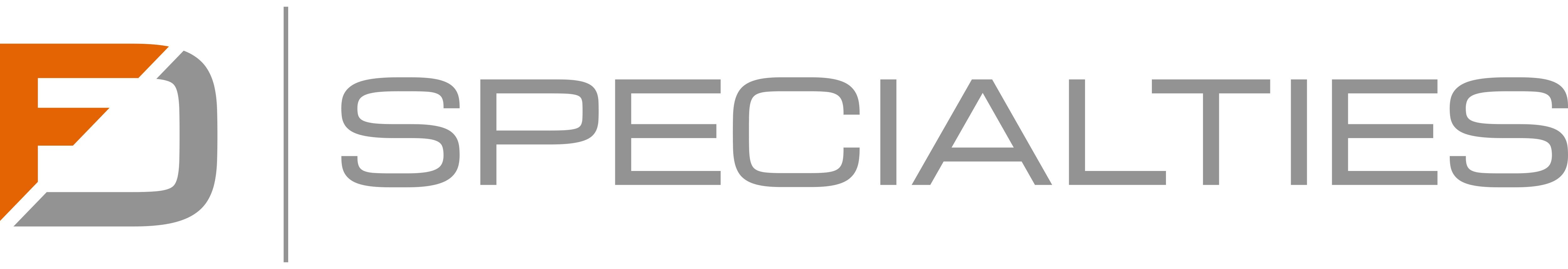 Logo design for FD Specialties