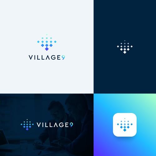 village 9 logo