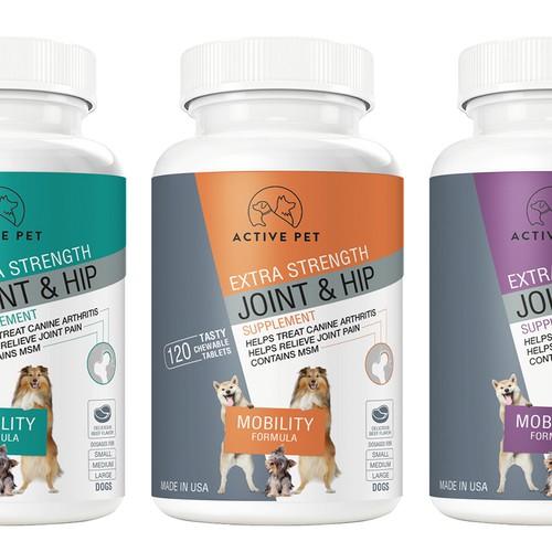Modern design for Dog Health Supplement