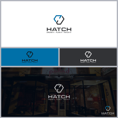 Logo concept for Hatch