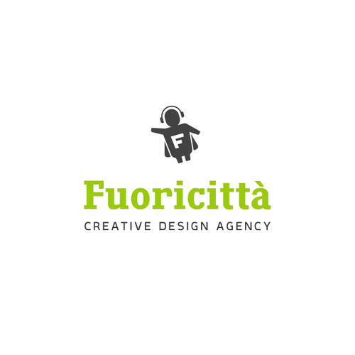 "Logotype for Creative Design Agency ""Fuoricittà"""