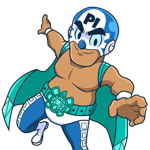 Luchador\Wrestler Mascot