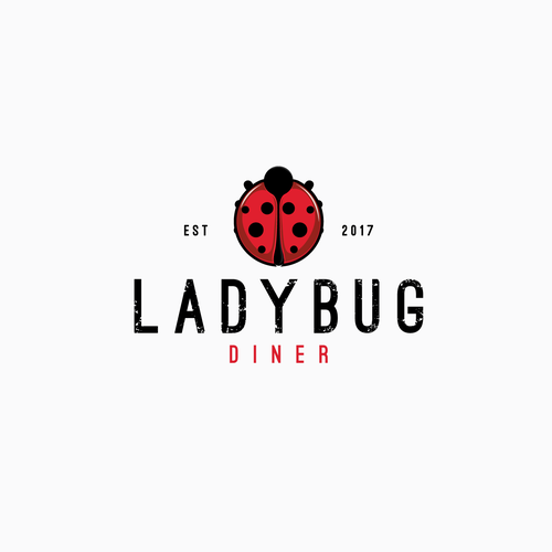 Logo concept for Ladybug Dinner-finalist