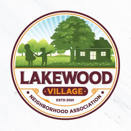 Logo for neighborhood association