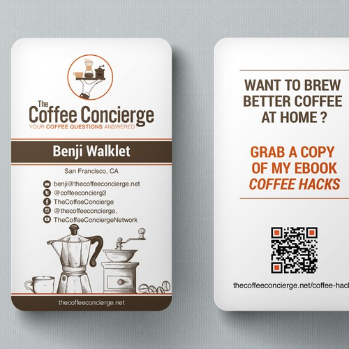 Unique card for Coffee Concierge