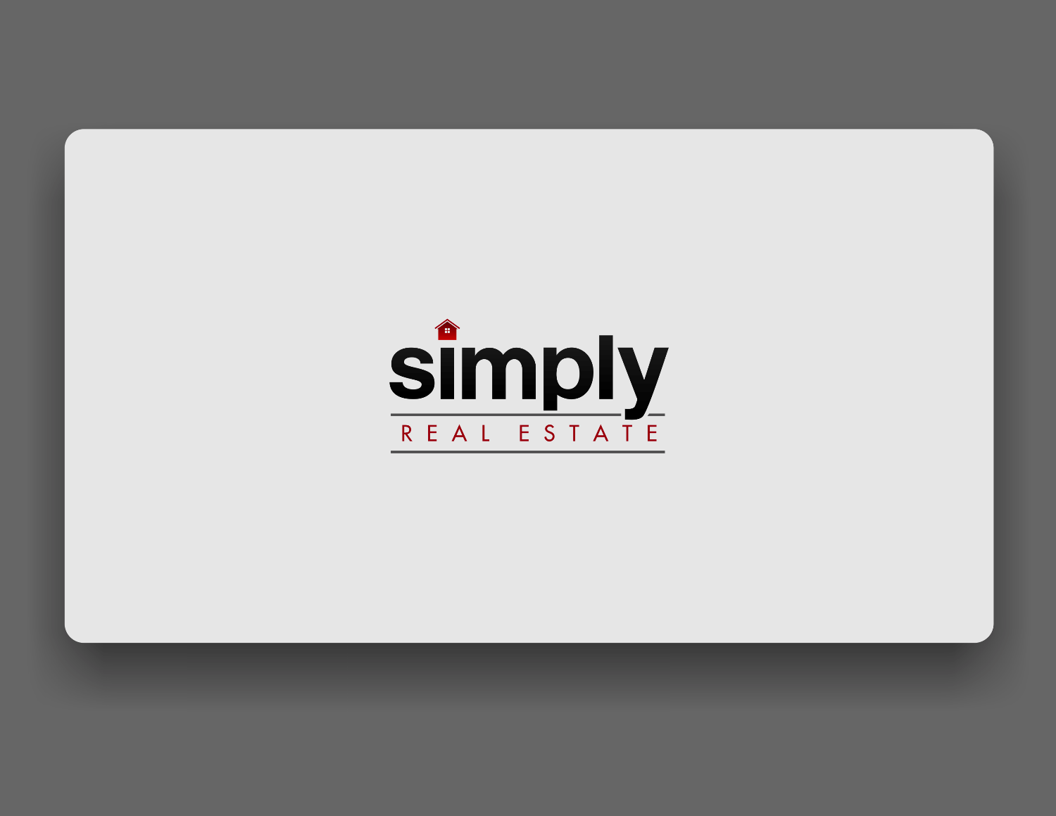 New logo wanted for Simply, Real Estate