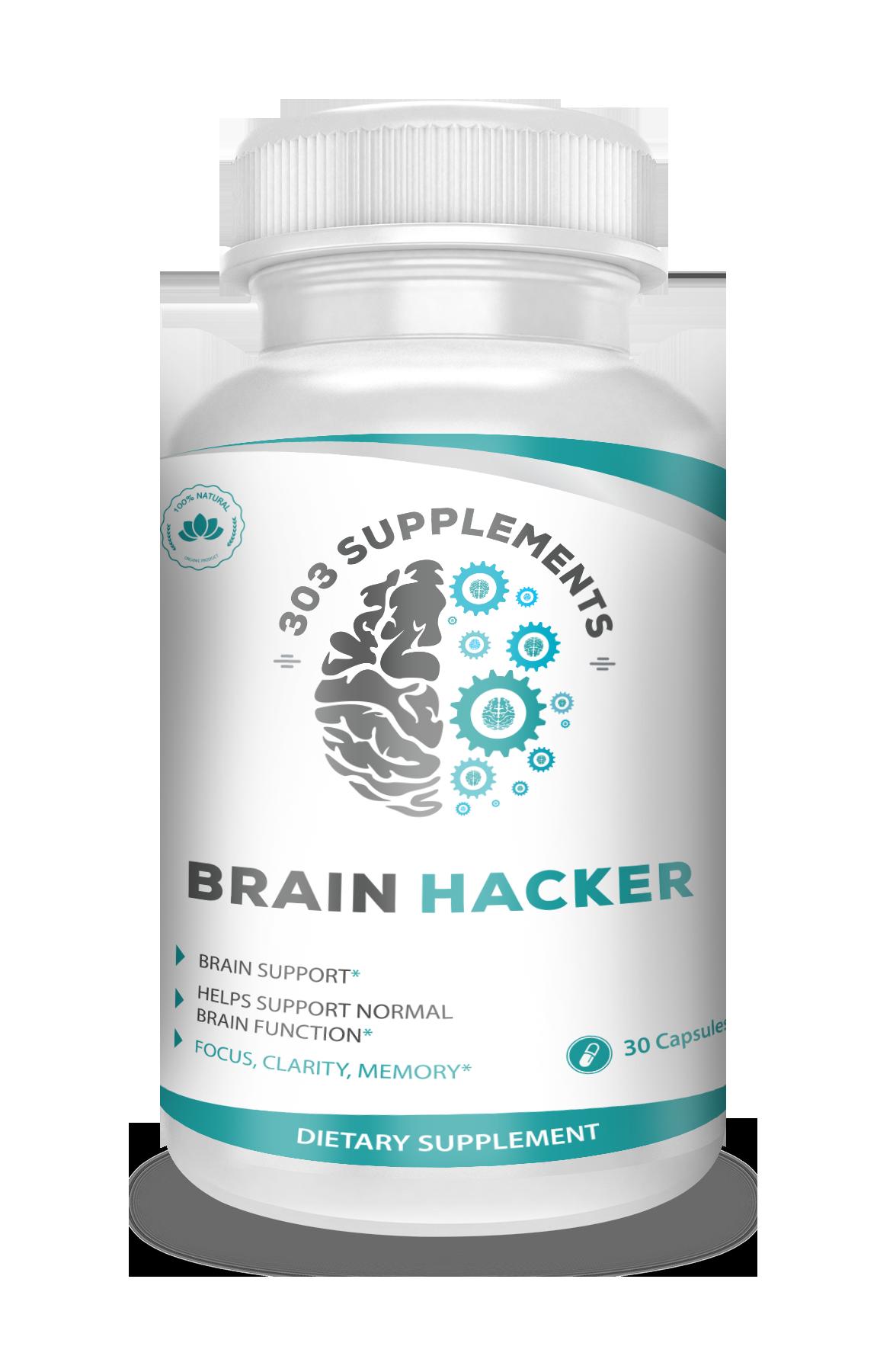 Brain Hacker Needs an EPIC Label Designed
