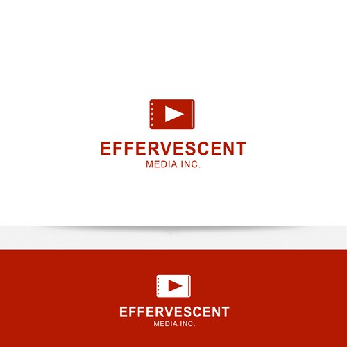 DESIGN A STRONG CONTEMPORARY LOGO FOR EFFERVESCENT MEDIA INC. WE CREATE VIDEO'S FOR CLIENTS.