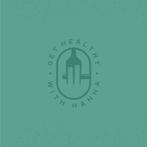 Logo Concept for Get Healthy With Hanna