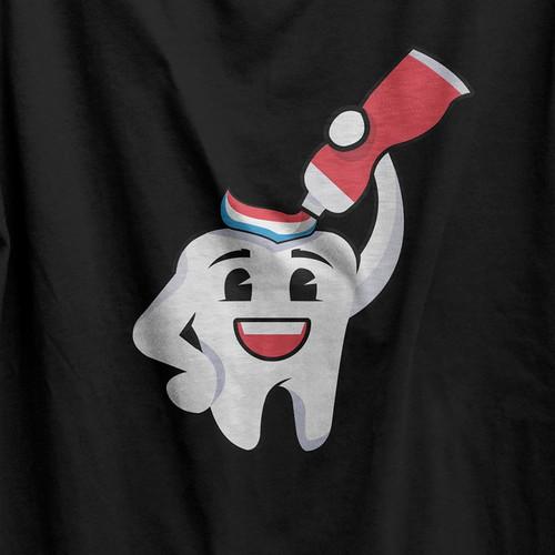 Fun & simple illustration for t-shirt