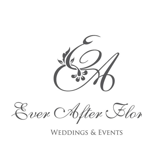 Logo for floral company