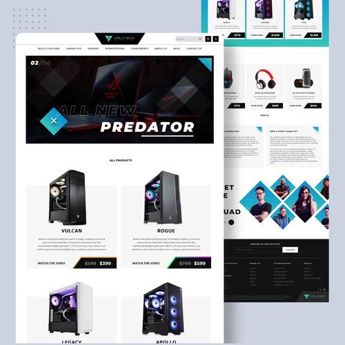 Gaming PC Website