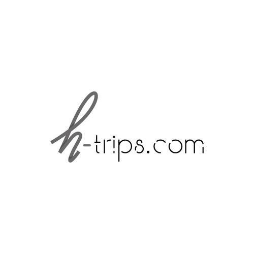 Logo concept for H-trips.com