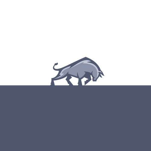 Charging Bull logo for Holding company