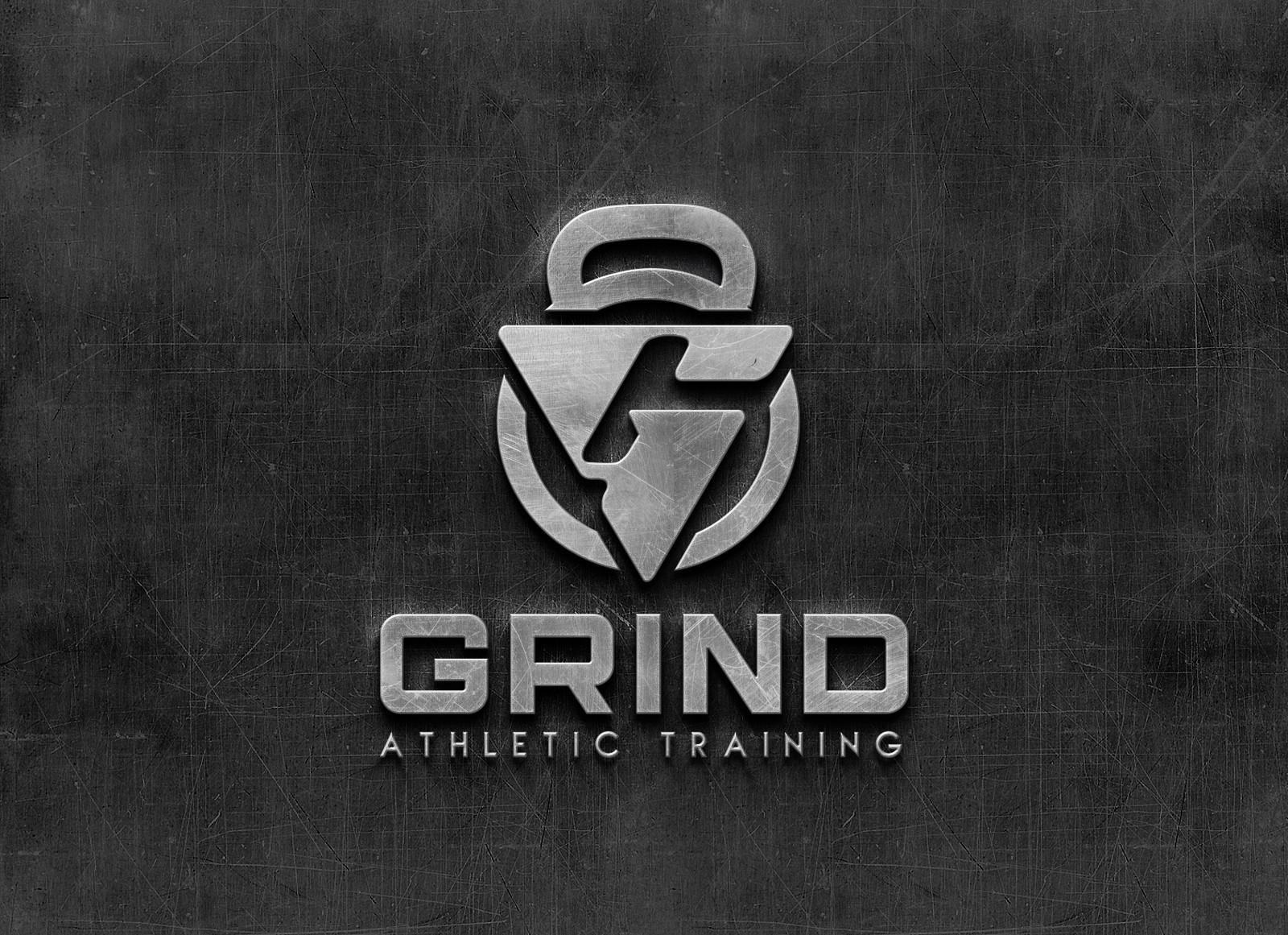 Modern logo for a Sports training fitness center.