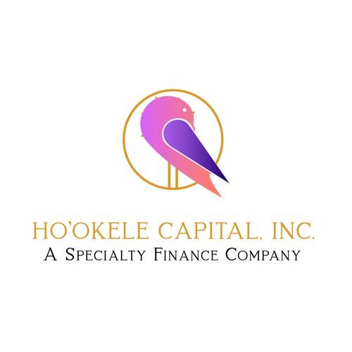 Logo concept for a finance company