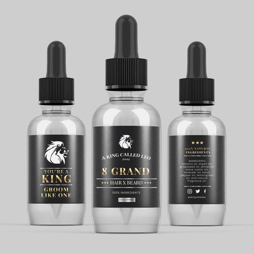 8 GRAND HAIR X BEARD OIL
