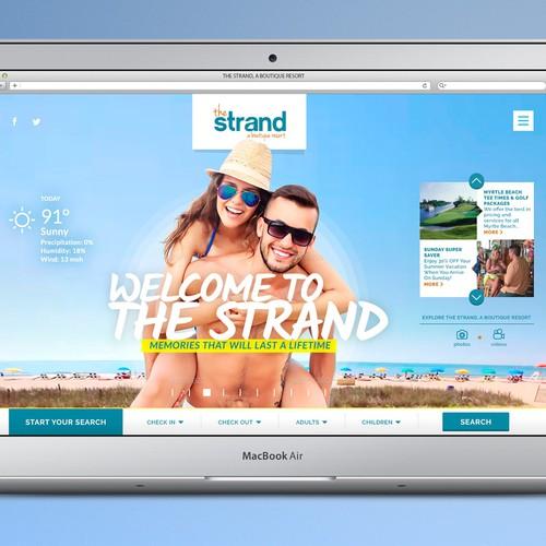 Website Redesign for a Boutique Resort