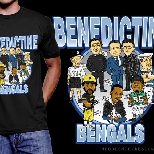 Benedictine Bengals T-shirt Project
