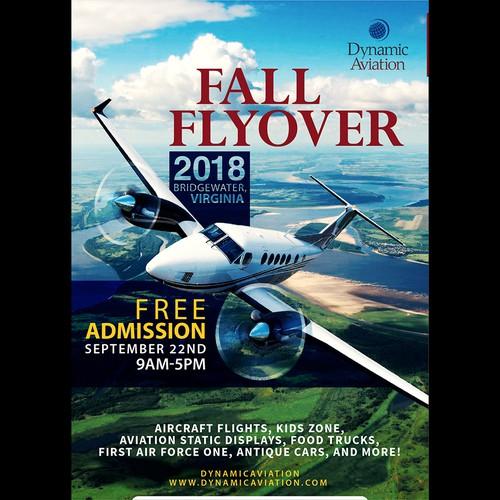 Dynamic Aviation Poster