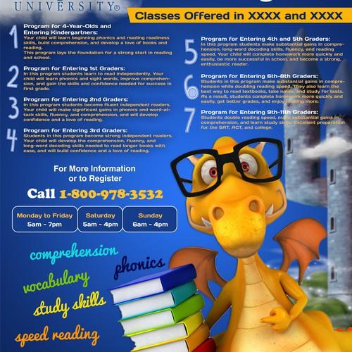 Flyer Advertising Summer Reading Programs