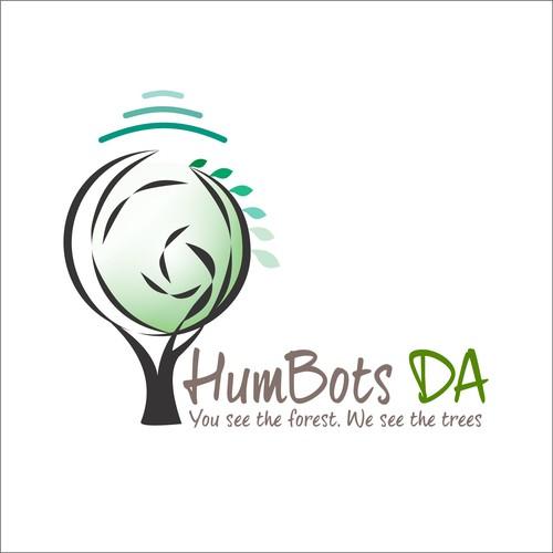 Fun and Youthfull logo for HumBots DA