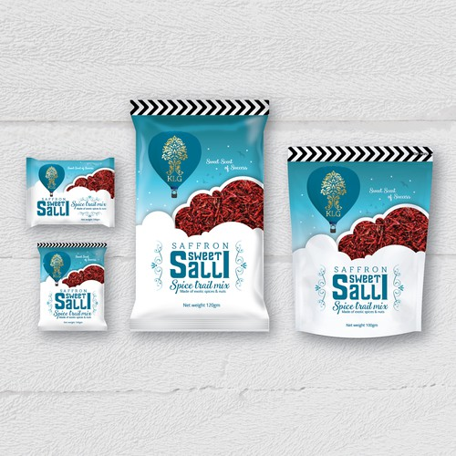 Packaging design for indian snack