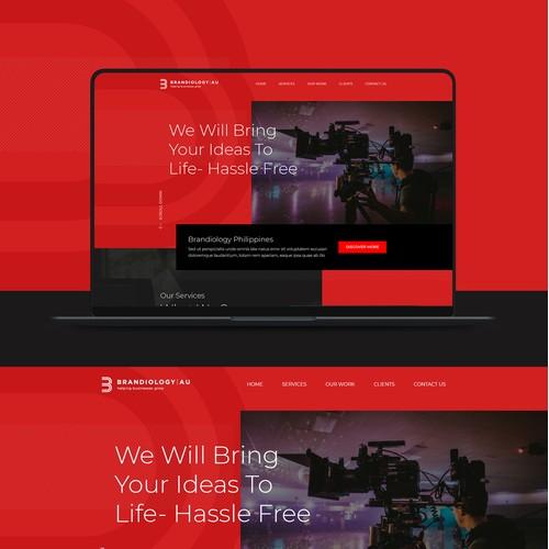 Website Design for Brandiology Au