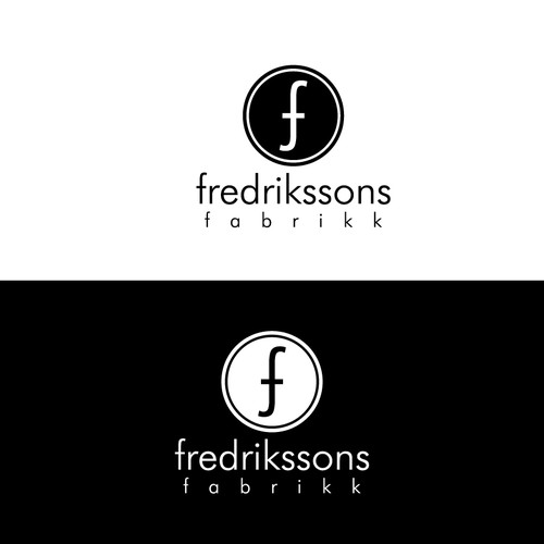 Fredrikssons Fabrikk needs a new logo