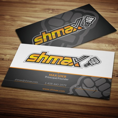 Create a business card for shmax.com, and rocket with me to obscurity!