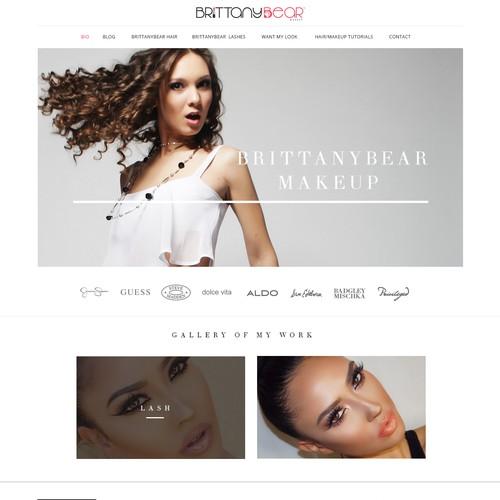 Makeup web site