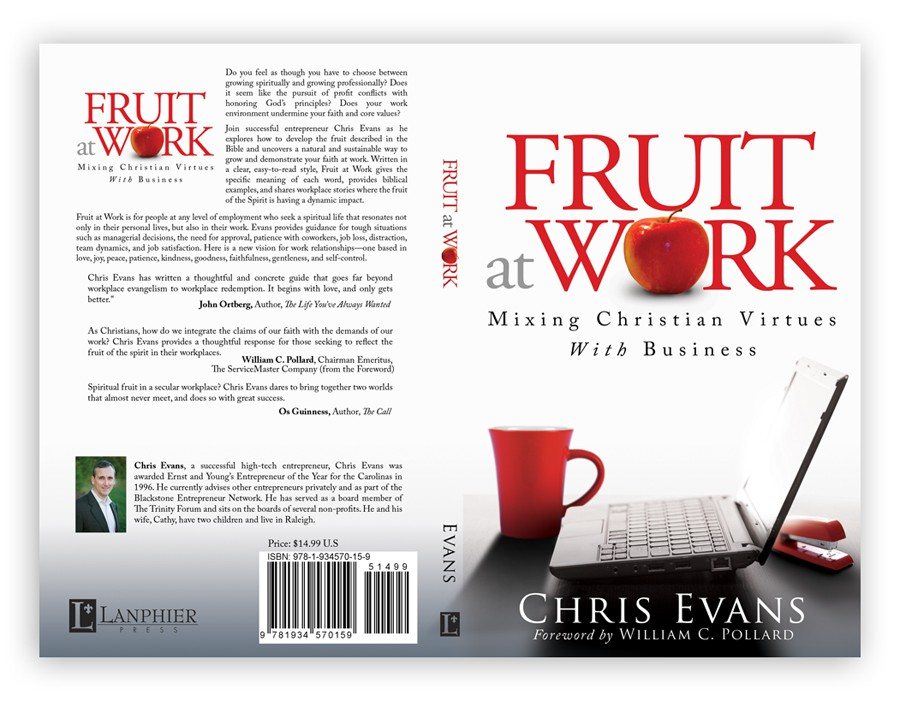 Book Cover Design for Fruit at Work