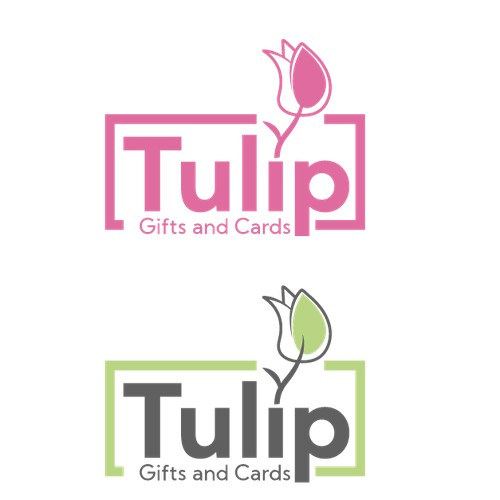 Logo design for a Gifts and cards shop